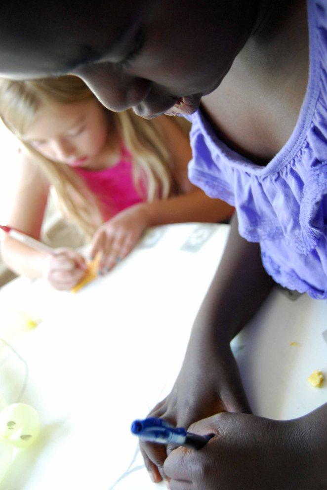 drawing lily & hannah