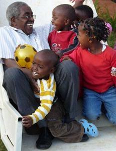 Pastor Karau and Sanctuary of Hope kids