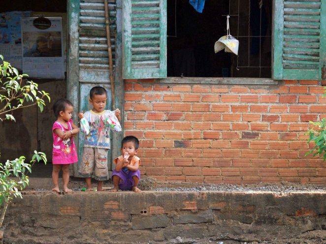 Children in rural Vietnam, (c) Colleen Briggs, 2011.