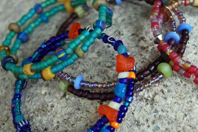 Bracelets made by SoH kids