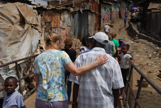 Walking through Mathare Valley, 2012, (c) Colleen Briggs