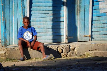 Child in Haiti, 2014. (c) Colleen Briggs