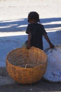 Child in Pele