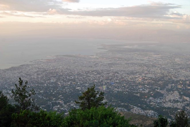 Overlook of Port au Prince, Haiti, 2014. (c) Colleen Briggs