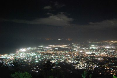 Port au Prince at night; (c) Colleen Briggs 2014