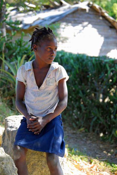 Child in Haiti, 2014. (c) Colleen Briggs