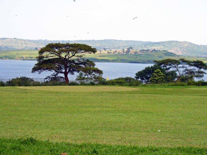 Nile River in Uganda, 2007.