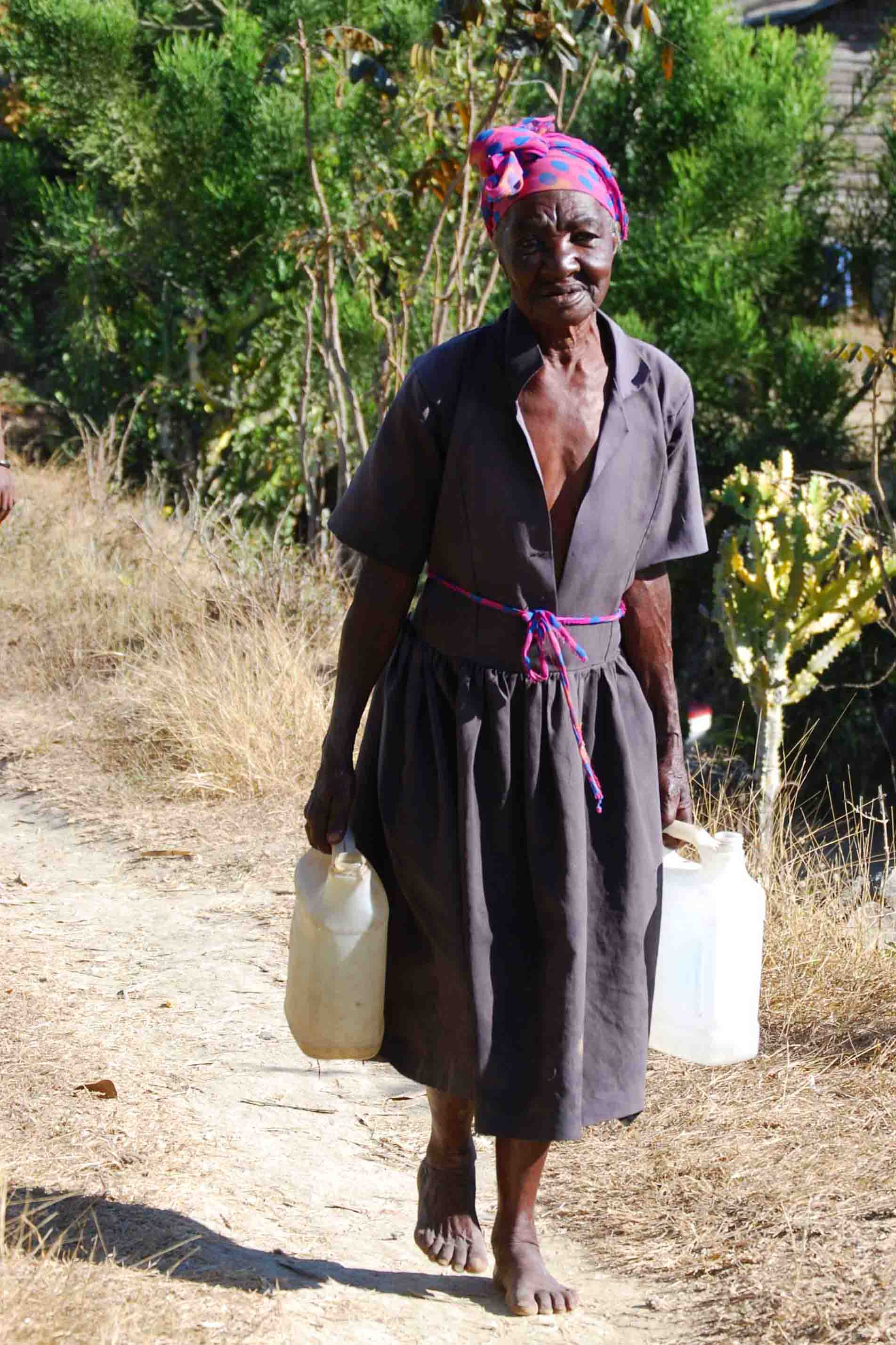 The Woman At The Well In Haiti Colleen Briggs
