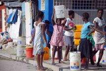Water in Port au Prince
