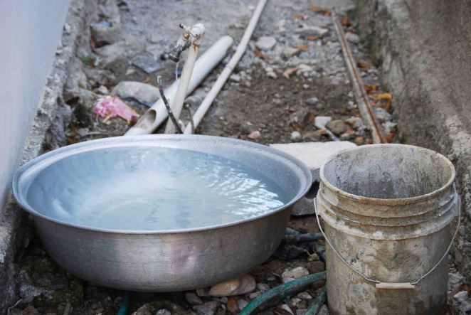 Water in Haiti, (c) Colleen Briggs, 2014.