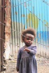 girl in slum