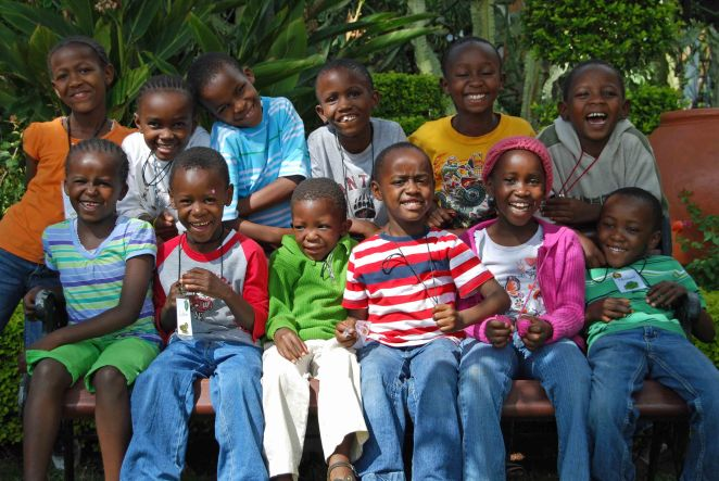 Sanctuary of Hope #2 children. Photo by Colleen Briggs