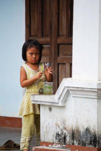girl in vietnam