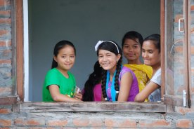 Children in Nepal, 2012. (c) Colleen Briggs
