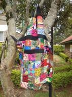 Tuungane Pamoja patchwork apron