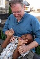 Brian Lee, visiting Sammy at SoH