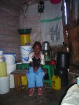 Stacy at home in Mathare