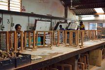 Kazuri workshop - bead kilns