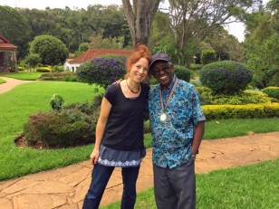 Me and Pastor Karau, 2017