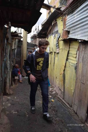 Justin in Mathare, 2017