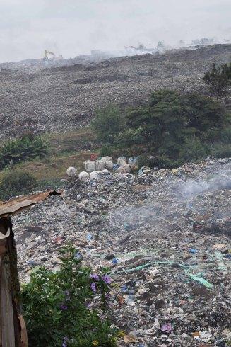 Nairobi City Dump bordering Korogocho, 2017