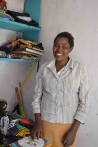 Joyce, slum artisan groups founder